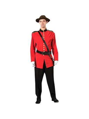 Adult Mountie Theater Costume