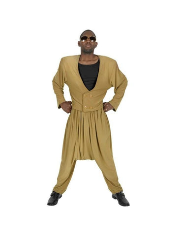 Adult Deluxe MC Hammer Costume-COSTUMEISH