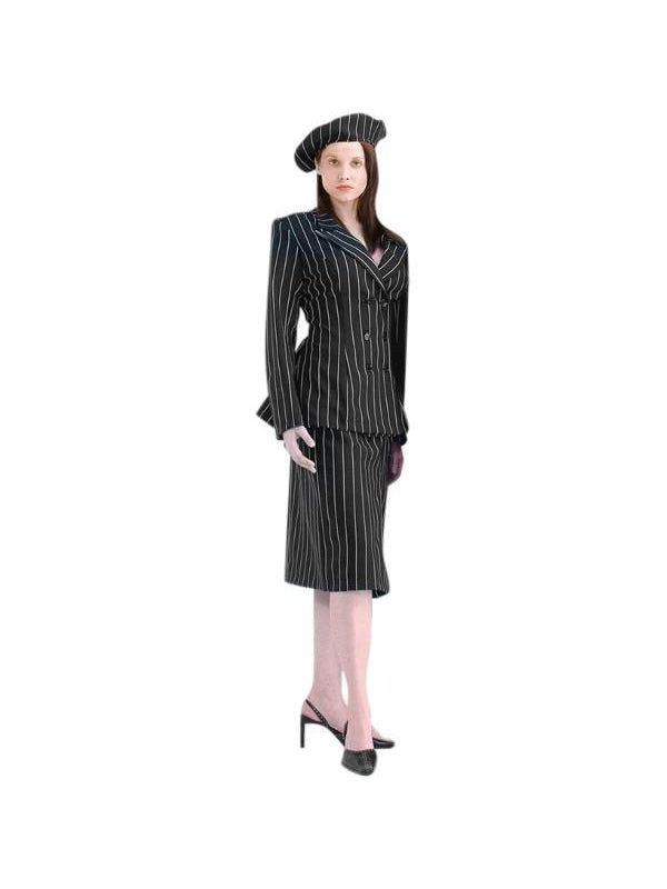 Women's Deluxe Bonnie and Clyde Costume-COSTUMEISH