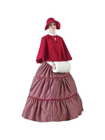 Adult Womens Christmas Caroler Theater Costume