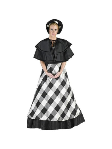 Adult Womens Classic Christmas Caroler Theater Costume