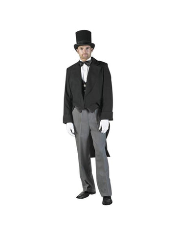 Adult Mens Classic Christmas Caroler Theater Costume