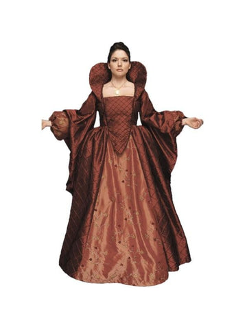 Adult Authentic Queen Elizabeth Theater Costume