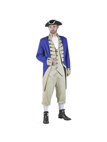 Adult Authentic Colonial Soldier Theater Costume