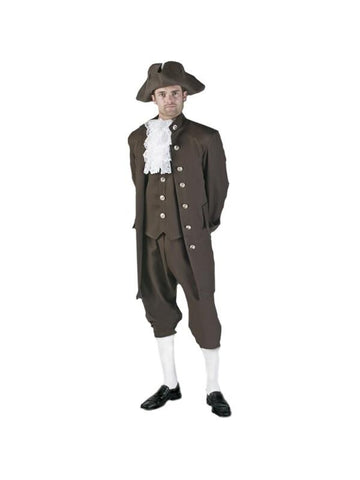 Adult Authentic Colonial Man Theater Costume