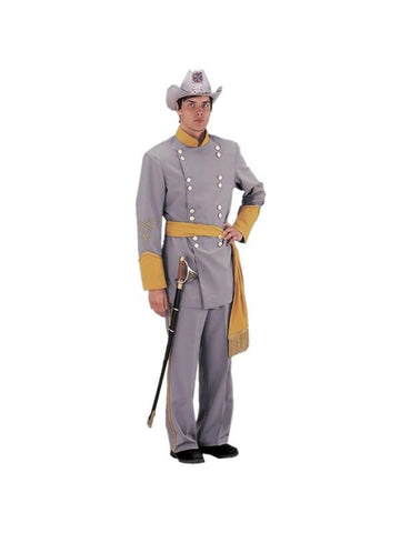 Adult Authentic Confederate Officer Civil War Theater Costume