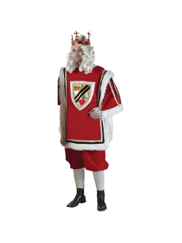 Adult Mens King of Hearts Theater Costume