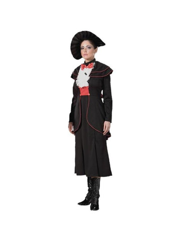 Adult Womens Black Mary Poppins Theater Costume