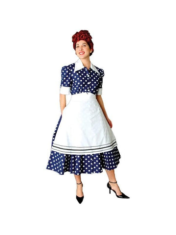 Adult 50's Housewife Theater Costume
