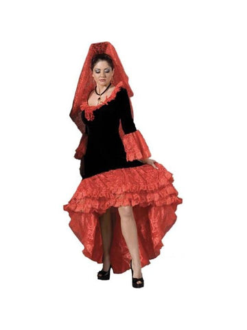 Adult Supreme Ladies Flamenco Dancer Theater Costume