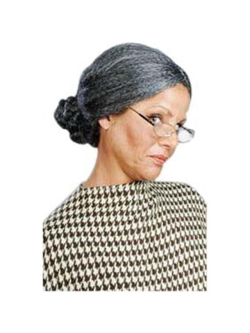 Classic Old Lady Costume Wig