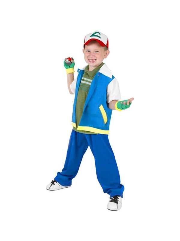 Child Ash Animal Collector Costume-COSTUMEISH