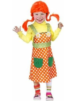 Child Peppy Swedish Girl Costume