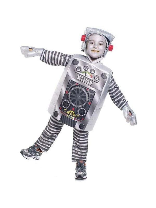 Toddler Robot Costume-COSTUMEISH