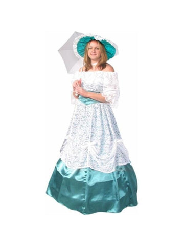 Adult Green Scarlet Ohara Costume-COSTUMEISH