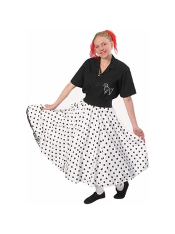 f8090a730711 Adult 50s Sock Hop Skirt