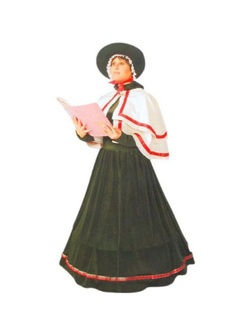Adult Christmas Caroler Costume