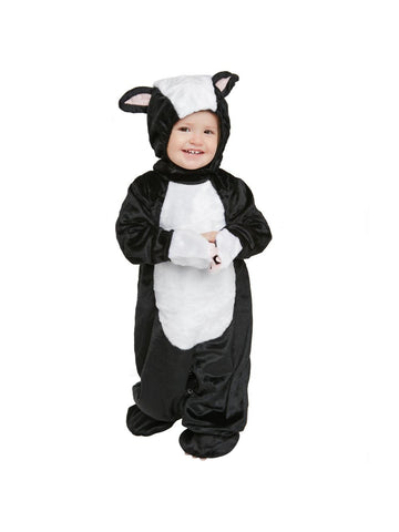 Toddler Fluffy Skunk Costume-COSTUMEISH