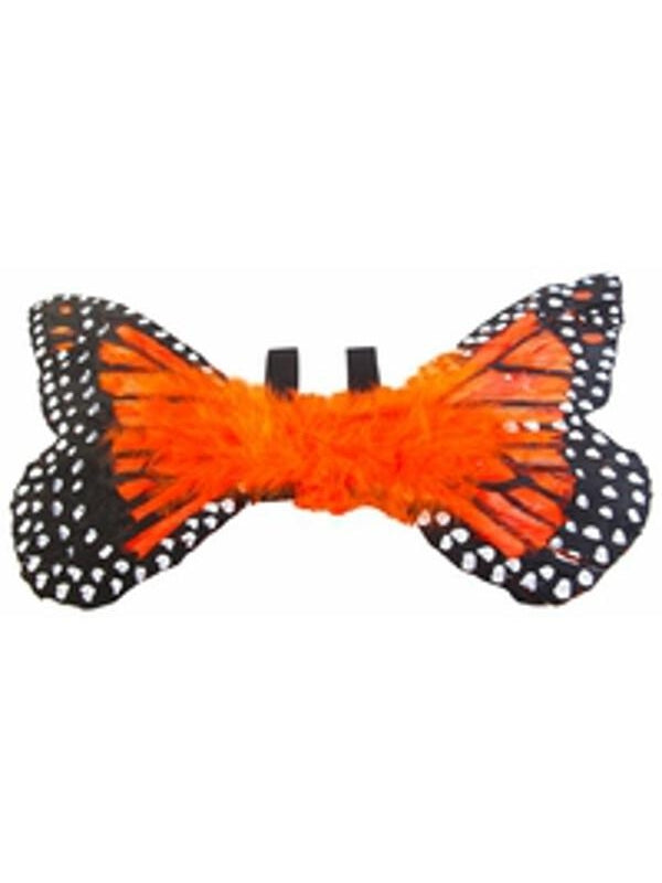 Toddler Orange Monarch Butterfly Wings-COSTUMEISH