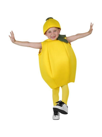 Child Lemon Costume-COSTUMEISH