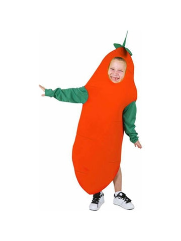 Child Carrot Costume