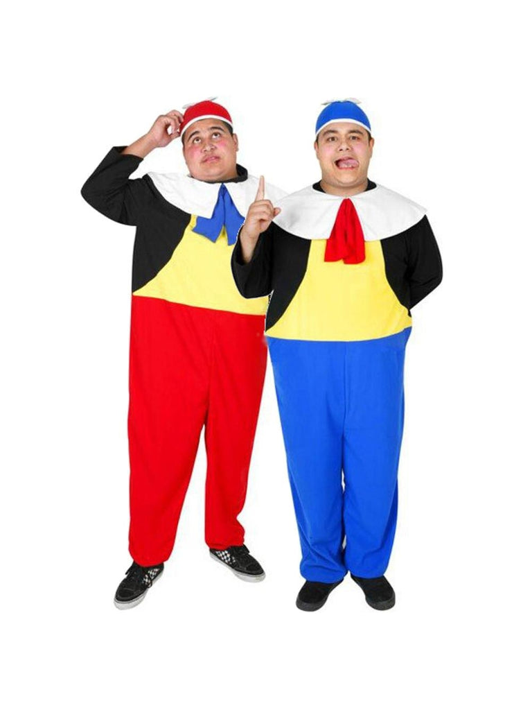 Adult Tweedle Dee & Tweedle Dum Costume Package-COSTUMEISH