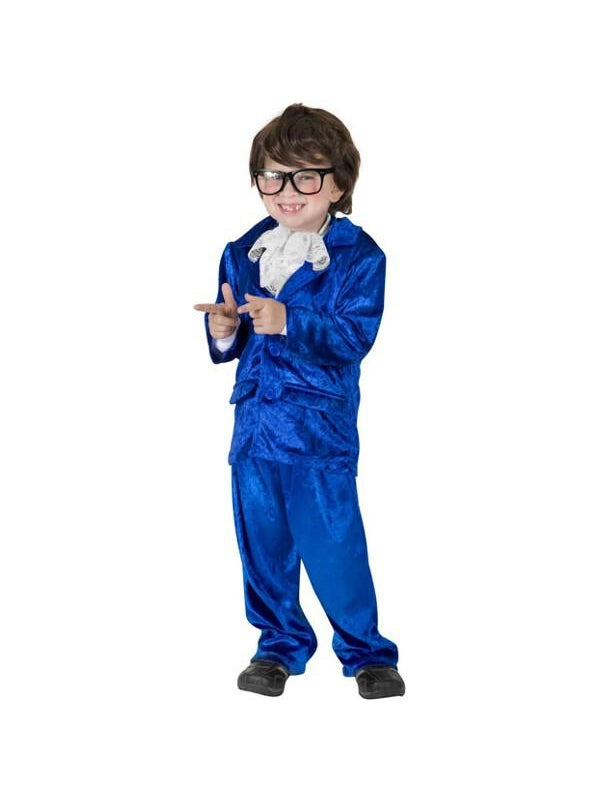 Child Austin Powers Costume-COSTUMEISH