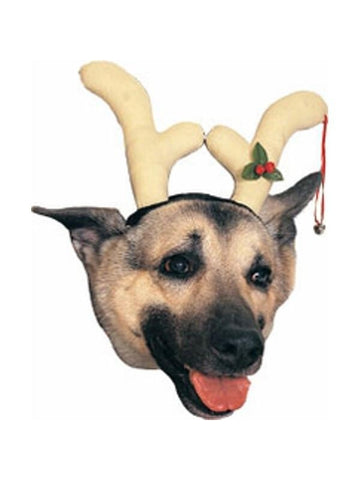 Dog Reindeer Antler Headpiece