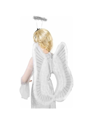 Feather Angel Costume Wings-COSTUMEISH