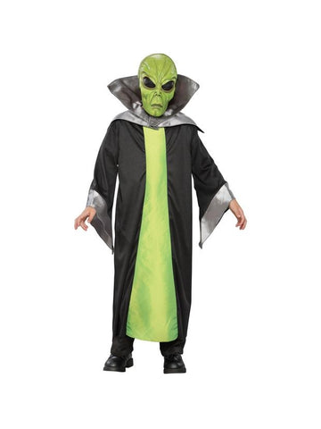 Child's Green Alien Costume-COSTUMEISH