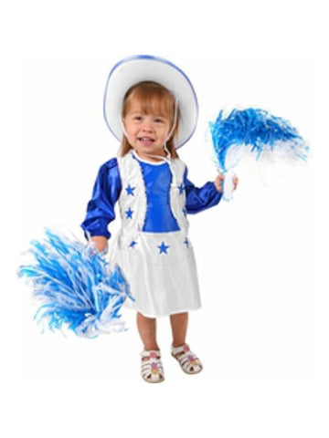 Toddler Dallas Cowboys Cheerleader Costume