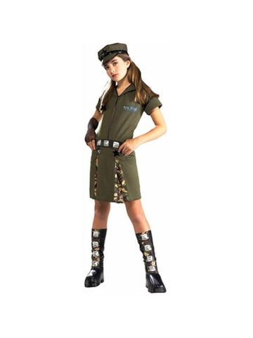 Childs Army Major Costume