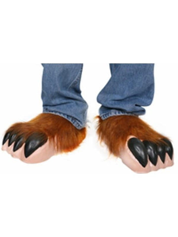 Childs Wolfman Costume Shoe Covers-COSTUMEISH