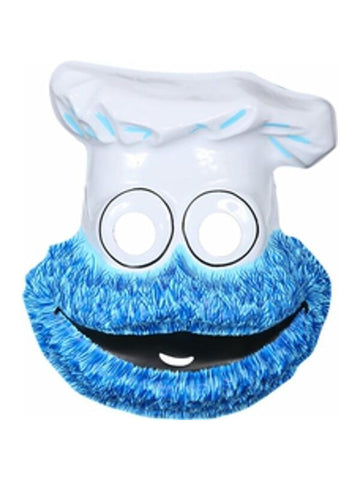 Childs Sesame Street Cookie Monster PVC Mask-COSTUMEISH