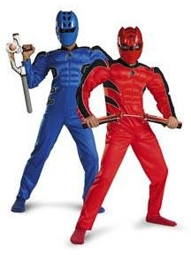 Childs Reversible Power Ranger Costume