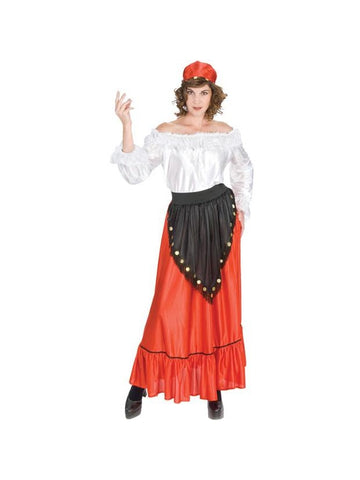 Adult Gypsy Costume-COSTUMEISH