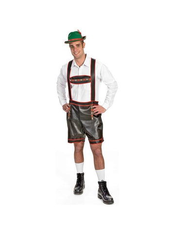 Adult Bavarian Lederhosen Costume-COSTUMEISH