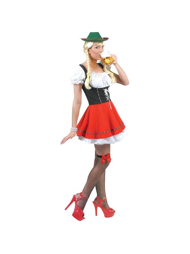 Woman's Bavarian Beer Girl Costume-COSTUMEISH