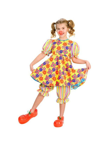 Child's Clown Dress Costume-COSTUMEISH