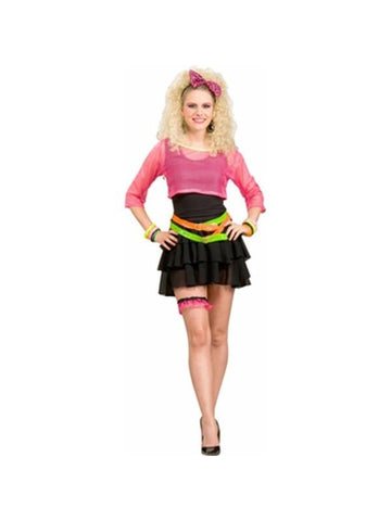 Adult 80's Valley Girl Costume