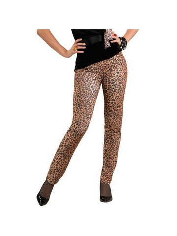 Adult Leopard Peg Bundy Pants