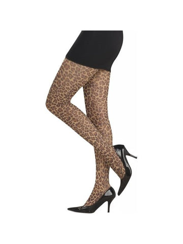 Adult Leopard Pantyhose Stockings-COSTUMEISH
