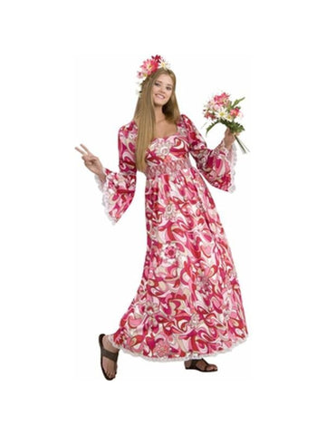 Adult Hippie Flower Child Costume