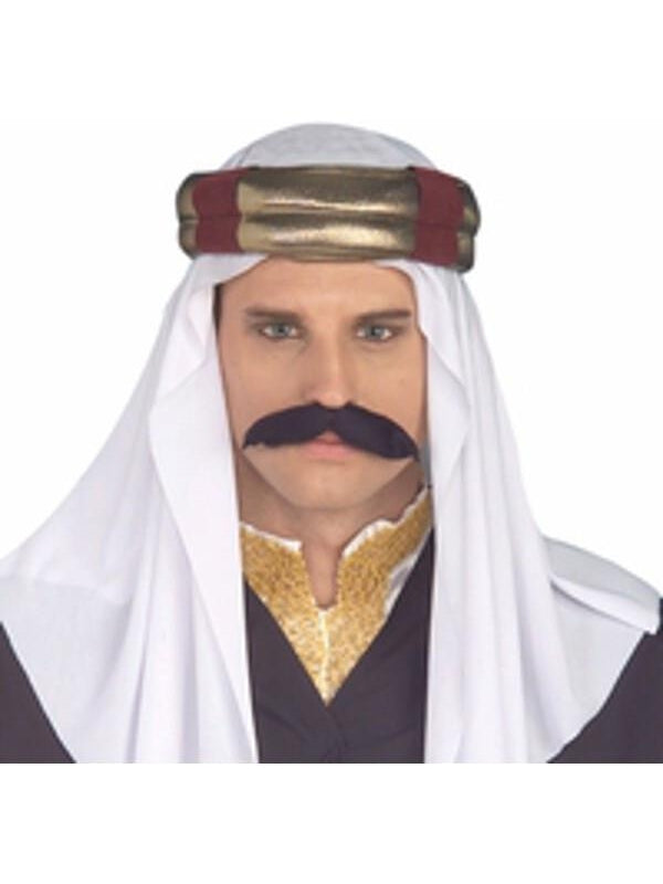 Adult Arabian Sultan Costume Headpiece-COSTUMEISH