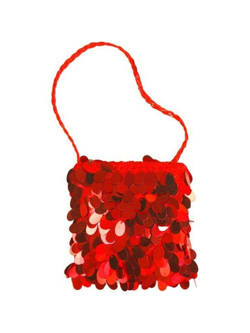 Adult Red Flapper Purse