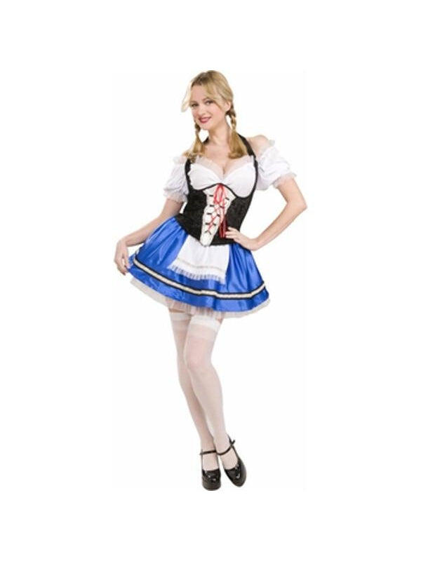 Adult Deluxe Gretel Costume-COSTUMEISH