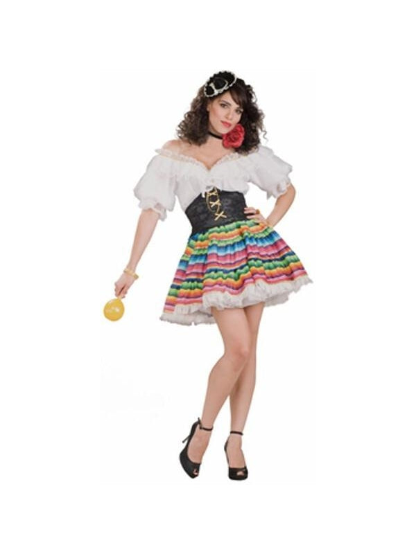 Adult Sexy Senorita Costume-COSTUMEISH