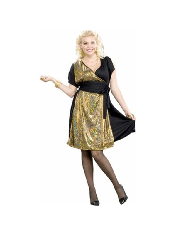 Adult Plus Size Saturday Night Fever Costume-COSTUMEISH