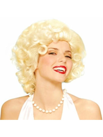 Adult Blonde Marilyn Monroe Wig-COSTUMEISH