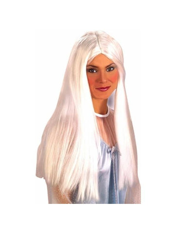 Adult Long White Angel Wig-COSTUMEISH
